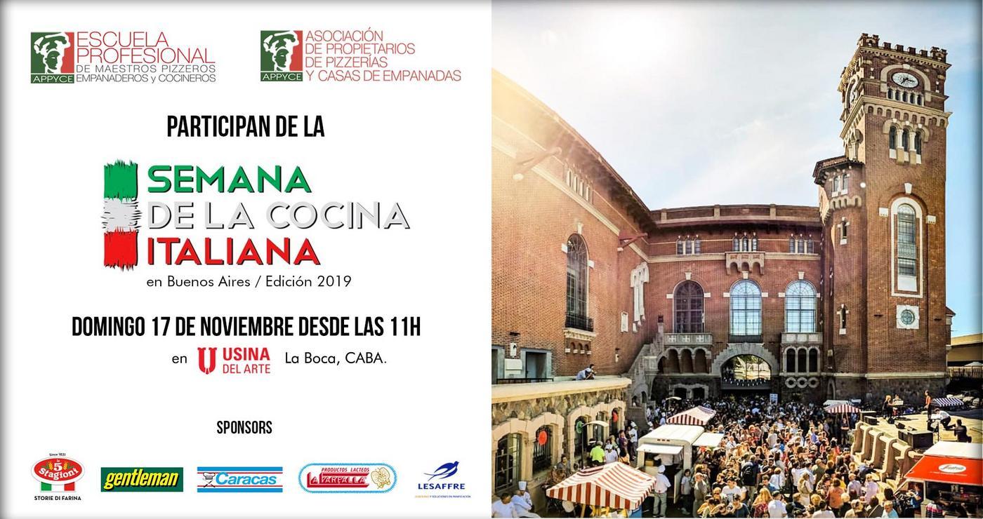 Semana de la Cocina italiana en Buenos Aires
